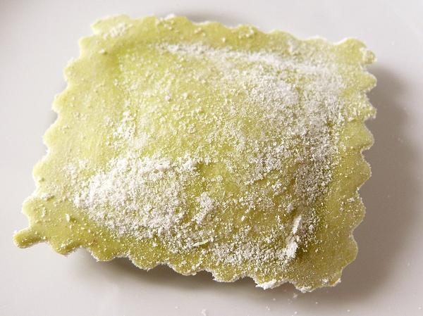 Frische Bio-Ravioli Spinat-Ricotta