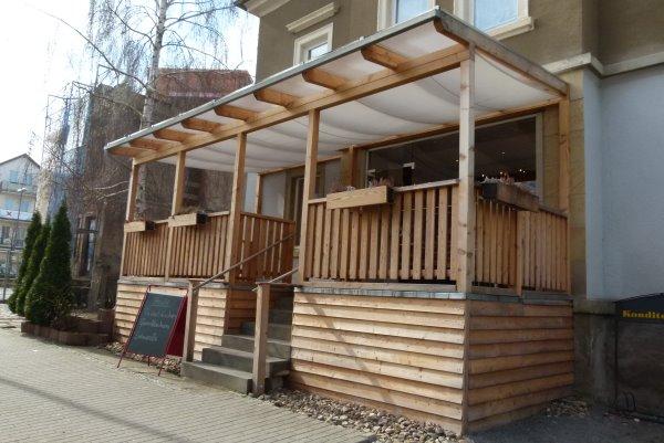 Bio-Bäckerei Heller in Dresden von außen