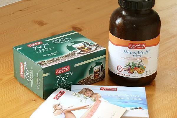 Produkte zum Entschlacken von P. Jentschura