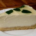 Rezept für eine leckere Mascarpone-Torte mit Zitronenmelisse