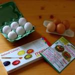 Ostereier Naturfarben Zutaten