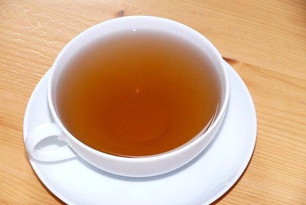Eine schöne Tasse heißer Tee