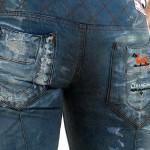 Öko-Designer-Jeans Unikat Gesäßtaschen