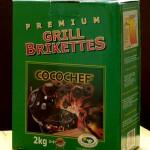 eine Packung Kokosbriketts von Cocochef