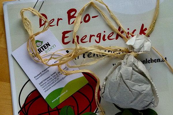 GARTENleben Bio-Dünger Probe