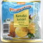 Verpackung Kartoffelklöße