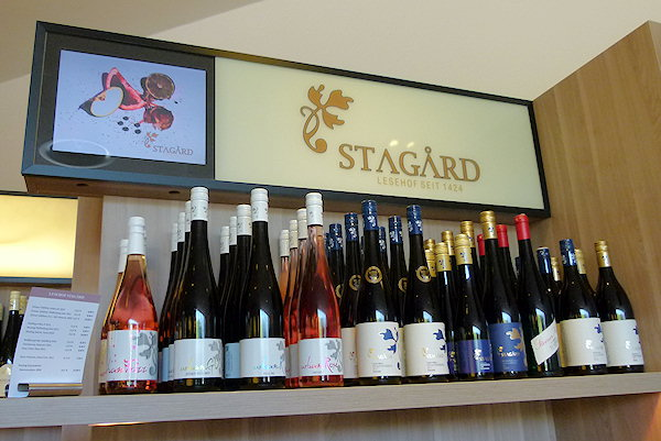 Stagard Bio-Wein-Sortiment in der Krems-Information