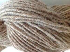 Alpaka Strickgarn beige