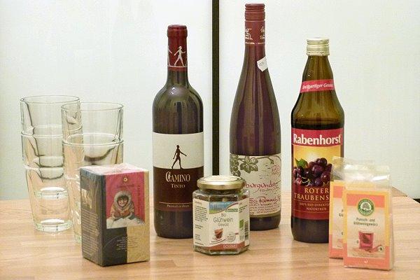 Wein und Glühweingewürze