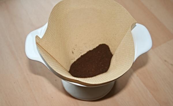 Kaffeefilter mit Filtertüte