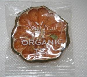 verpackter Früchtetee