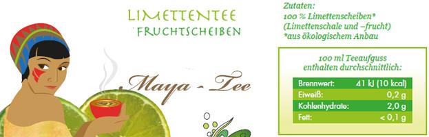 Maya-Tee Verpackung