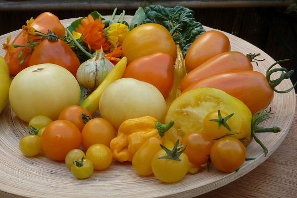 gelbes Gemüse