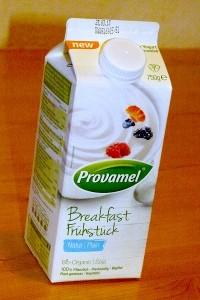 Tetra Pack mit Sojajoghurt