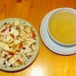 Provamel Jogurt Vanille mit Müsl,i Apfel und Tee