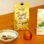 Provamel Jogurt Vanille Frühstücks-Zutaten