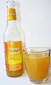 Saftglas mit Flasche Voelkel