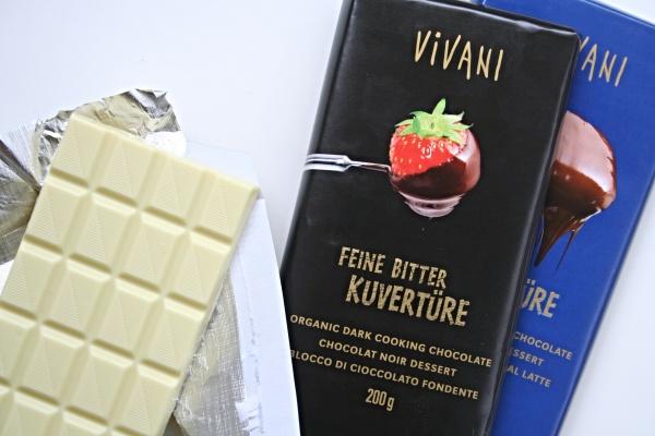 Kuvertüre und Schokolade von Vivani