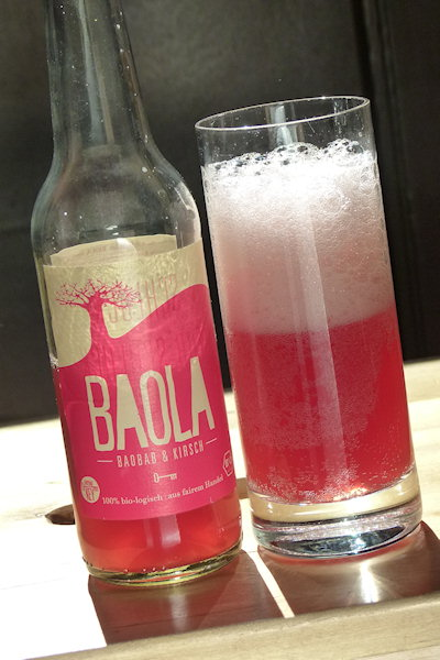 Im Glas Baobab Kirsch