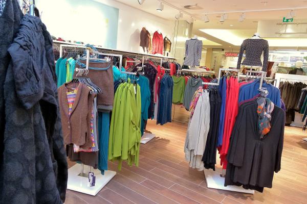 Geschäft für Grüne Mode