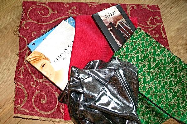 Stoffreste und Weihnachtsgeschenke