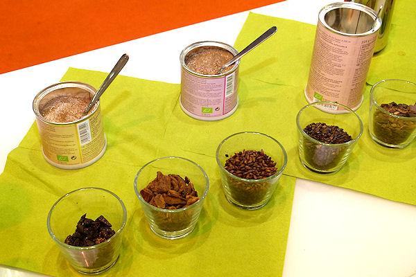 Zutaten für Bio-Getreide-Kaffee