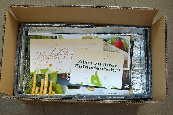 Thermobox mit Inhalt von alles-vegetarisch