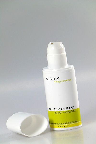 Natürlicher Sonnenschutz von ambient in Kunststoffflasche
