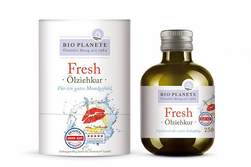 Ölziekur Fresh von Bio Planete, aktuelles Design