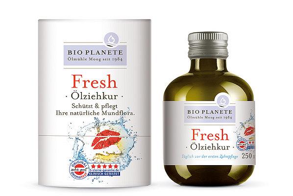 Ölziehkur Bio Planete neue Flaschenform