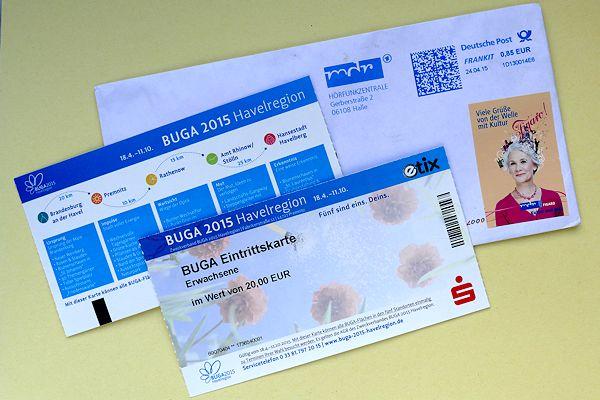 Tickets für die BUGA-2015