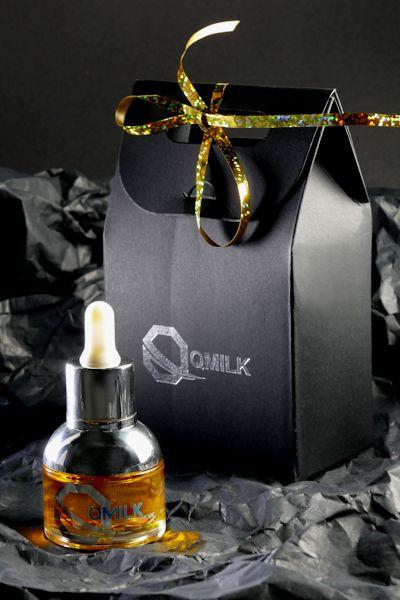 QMILK Skin-Oil mit Geschenk-Verpackung