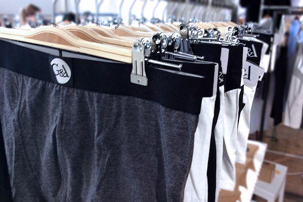 G&A Underwear Auswahl zur Ethical Fashion Show