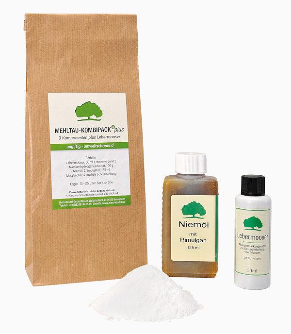Waschbaer Mehltau Kombi Pack Plus