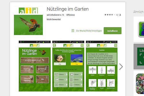 aid App Nützlinge