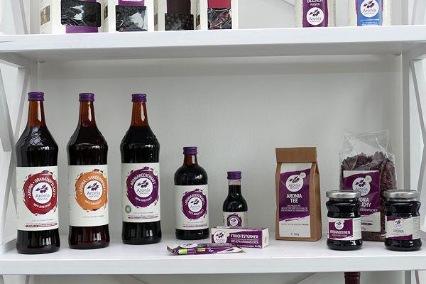 Aronia-Produkte