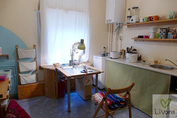 Werkstatt in der Küche