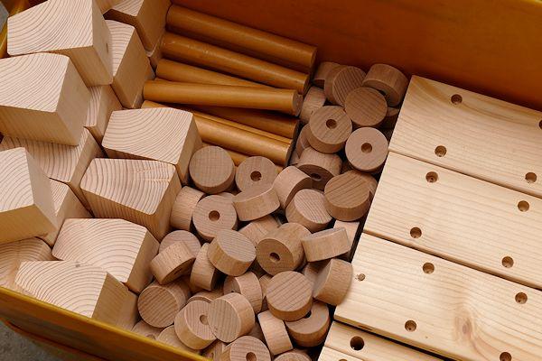 Holzlaster Einzelteile