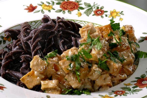 Buchweizen-Pasta Carbonara