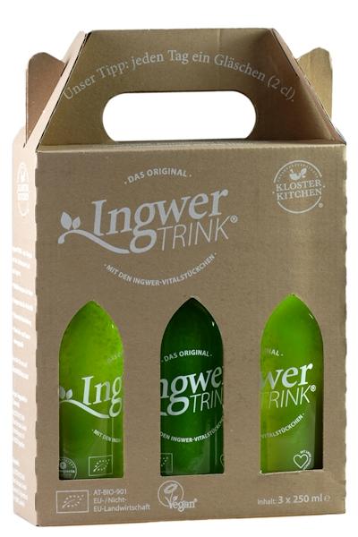 IngwerTrink im 3er-Papp-Karton