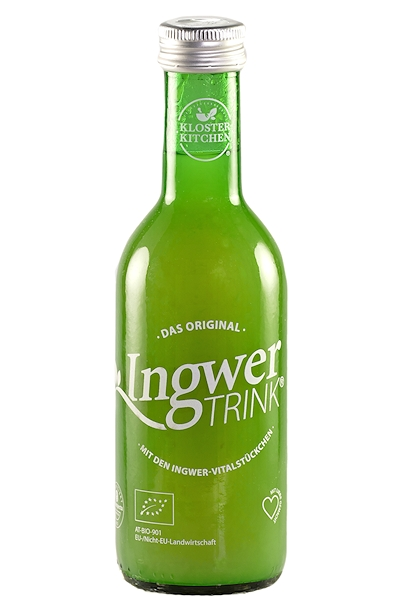 IngwerTrink in 250 ml Glas-Flasche