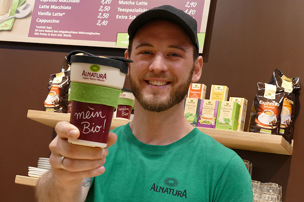 Alnatura Dresden Bio-Kaffee-Konzept