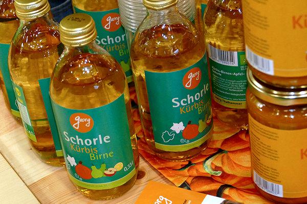 Kürbis-Birne Schorle Bio