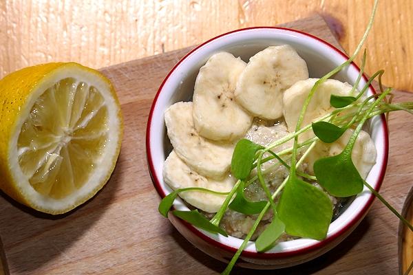 Morgenstund Banane Postelein Zitrone