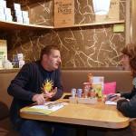 Adina im Gespräch mit Berndt Kienmeyer