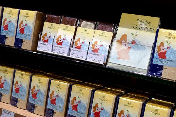 Sonnentor-Dresden Sonnige Grüße aus Dresden Tee + Schokolade
