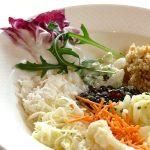Auswahl vom Salatbuffet