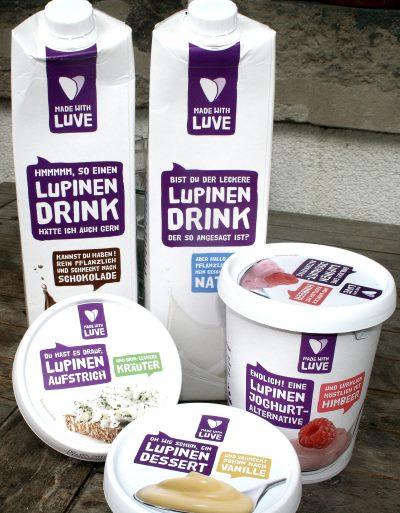 Lupinen-Produkte