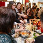 foodbloggercamp Gemüse schnipseln für Alle