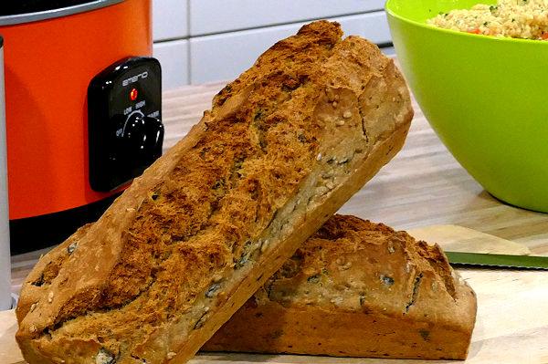 5-Minuten Brot frisch gebacken